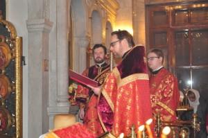 Торжественное богослужение состоялось в праздник Светлого Христова Воскресения в Казанском храме