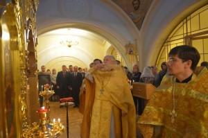 Состоялось малое освящение домового храма Воскресения Словущего при Пенсионном фонде России