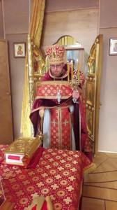 В четверг Светлой седмицы в домовом храме Воскресения Словущего при Пенсионном фонде России состоялось торжественное богослужение