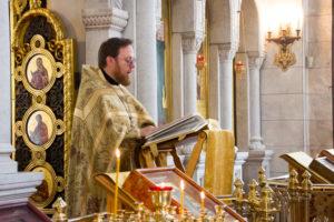 Божественная литургия: Свт. Иова, патриарха Московского и всея России