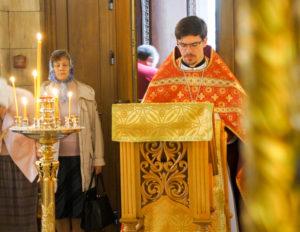 В день праздника Усекновения главы Иоанна Предтечи состоялась Божественная литургия